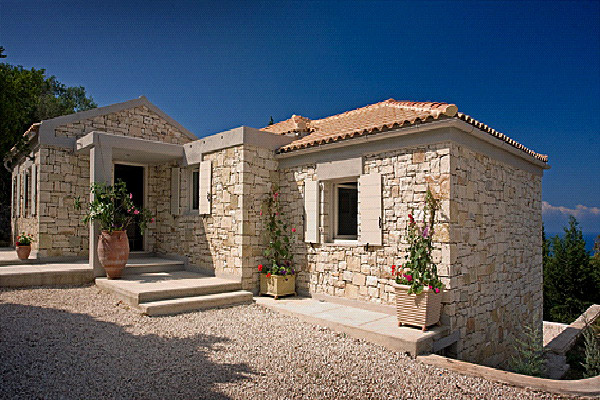 Arzumanidis investments new build stone house in greece for Building a stone house