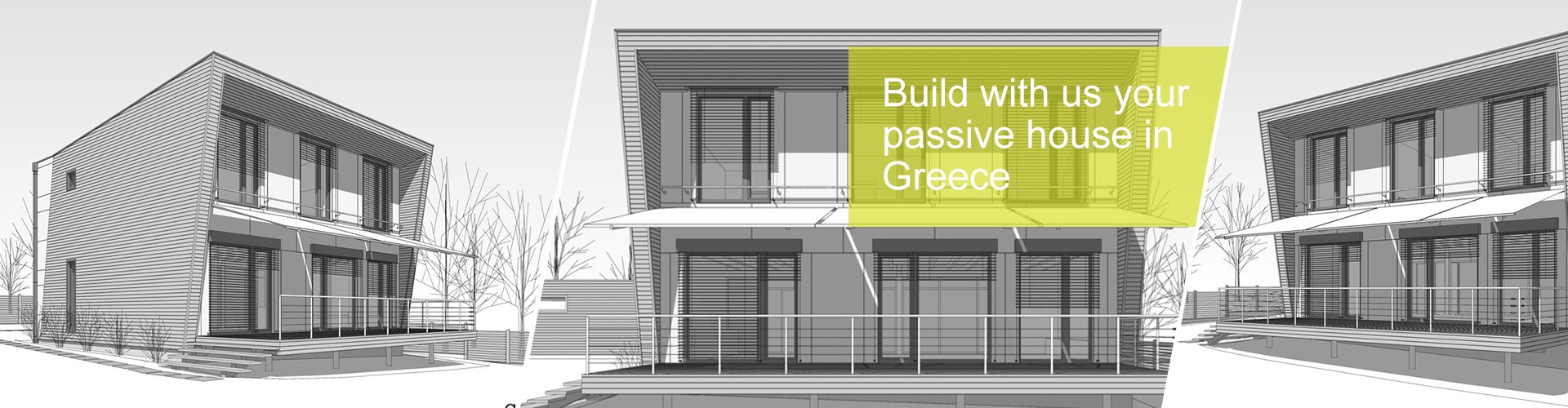 Build with us your passive house in Greece